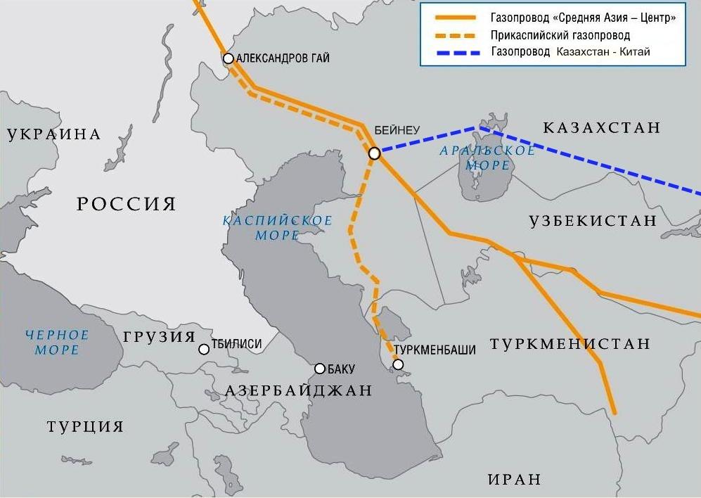Началась поставка туронского газа в Единую систему газоснабжения.