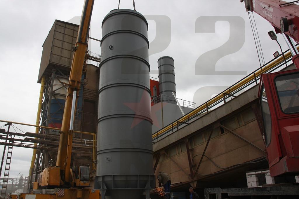 силосы для хранения цемента